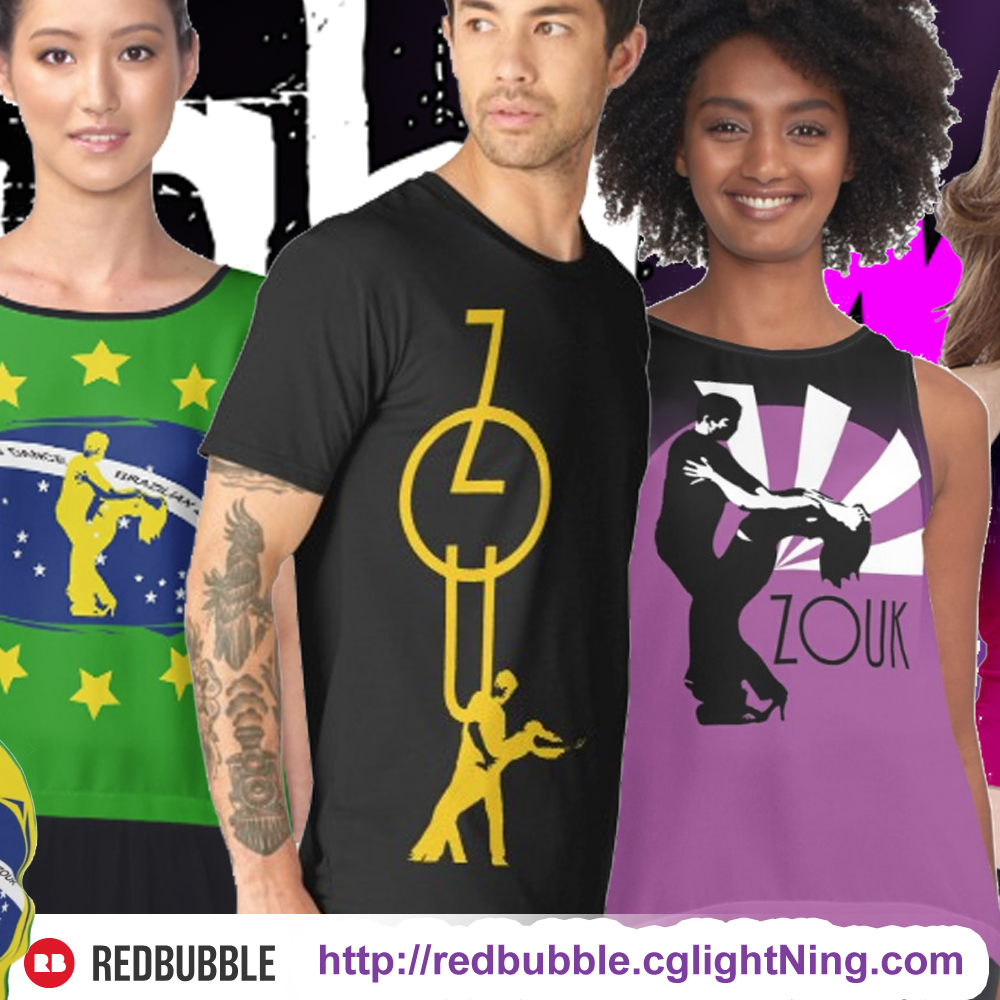 redbubble - dance designs by cglightNingART and more